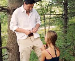 Tiene sexo con su hijastra en el bosque tras salir juntos de picnic